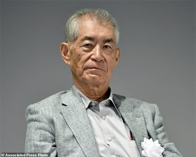 Chân dung Giáo sư Tasuku Honjo của Nhật Bản