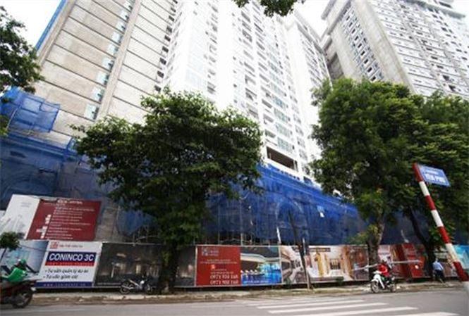 Dự án 44 Yên Phụ - một trong những dự án nợ đọng tiền sử dụng đất theo kết luận của Thanh tra Chính phủ