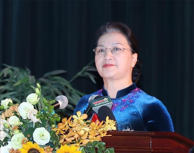 Chủ tịch Quốc hội Nguyễn Thị Kim Ngân. Ảnh: Trọng Đức/TTXVN.
