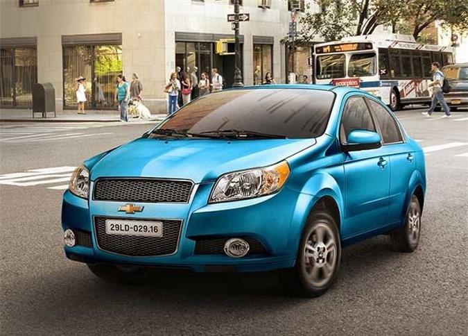 Chevrolet Aveo giảm giá thấp kỷ lục, ngang giá Hyundai Grand i10, Toyota Wigo