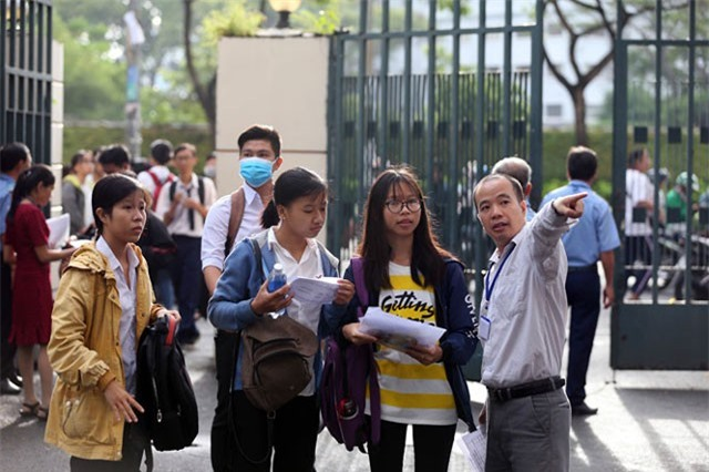 Trường Đại học tổ chức thi riêng ra đề theo hướng nào?