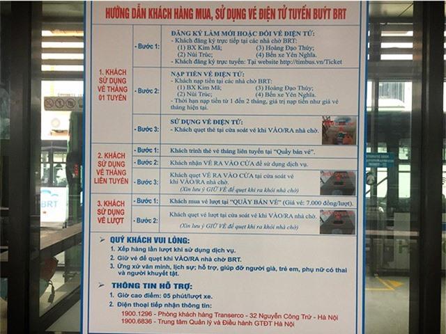 Hà Nội chính thức sử dụng vé điện tử tại xe bus nhanh BRT - Ảnh 2.