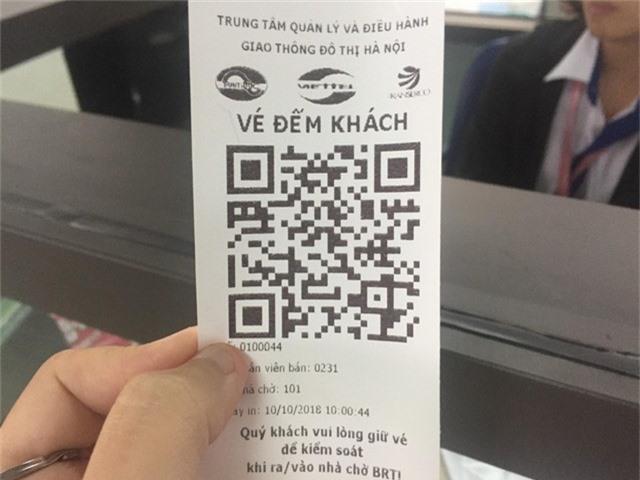 Hà Nội chính thức sử dụng vé điện tử tại xe bus nhanh BRT - Ảnh 3.