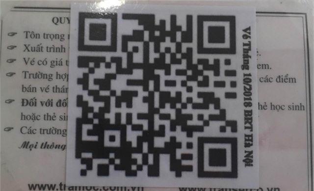 Hà Nội chính thức sử dụng vé điện tử tại xe bus nhanh BRT - Ảnh 4.