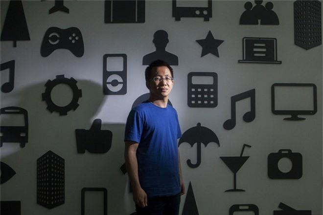 Người sáng lập công ty ByteDance, Zhang Yiming.