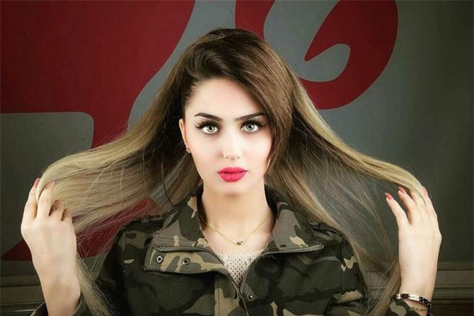 Hoa hậu Iraq 2015 - Shimaa Qasim Abdulrahman.
