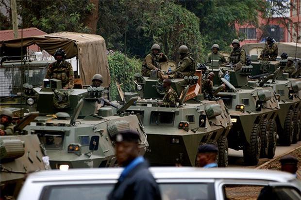 Các lực lượng Somalia được Mỹ hậu thuẫn đang cố