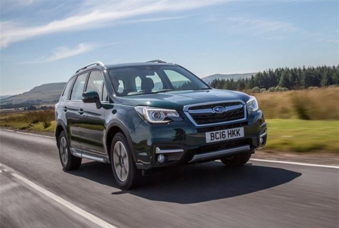 Cập nhật bảng giá xe Subaru tháng 10/2018