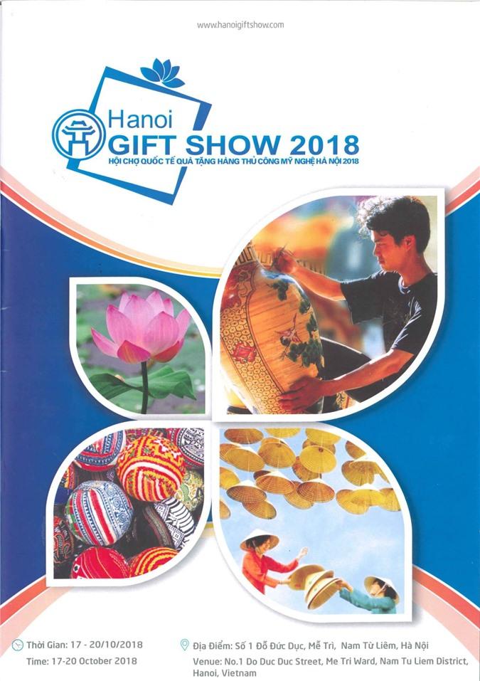650 gian hàng, 250 doanh nghiệp tham gia Hội chợ quốc tế quà tặng hàng thủ công mỹ nghệ Hà Nội