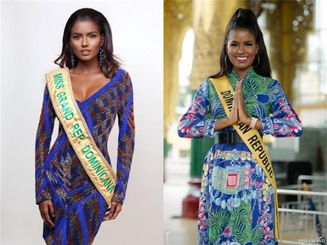 Clara Mayte Brito Medina - đại diện Cộng hòa Domiinican - là một người đẹp da màu được đánh giá cao ở cuộc thi năm nay. Cô sinh năm 1991, thuộc nhóm thí sinh lớn tuổi nhất và cao 1,7m.