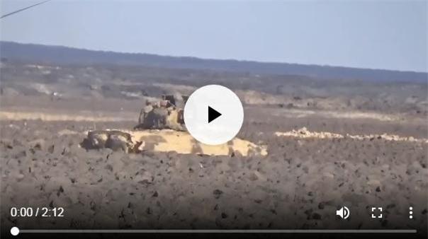 """Clip: Quân đội Syria """"tống cổ"""" IS khỏi khu vực núi lửa chiến lược"""