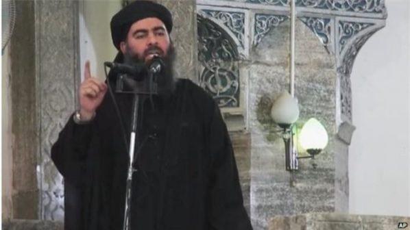 Thủ lĩnh Tổ chức Nhà nước Hồi giáo (IS) tự xưng Abu Bakr Al-Baghdadi