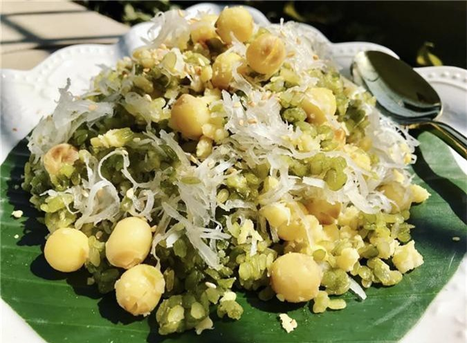 Xôi cốm hạt sen dẻo ngọt lưu trọn hương vị mùa thu - 1