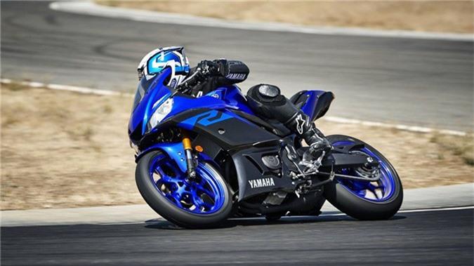 Yamaha YZF-R3 2019 so huu kieu dang moi, cai tien dong co hinh anh 5
