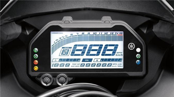 Yamaha YZF-R3 2019 so huu kieu dang moi, cai tien dong co hinh anh 8