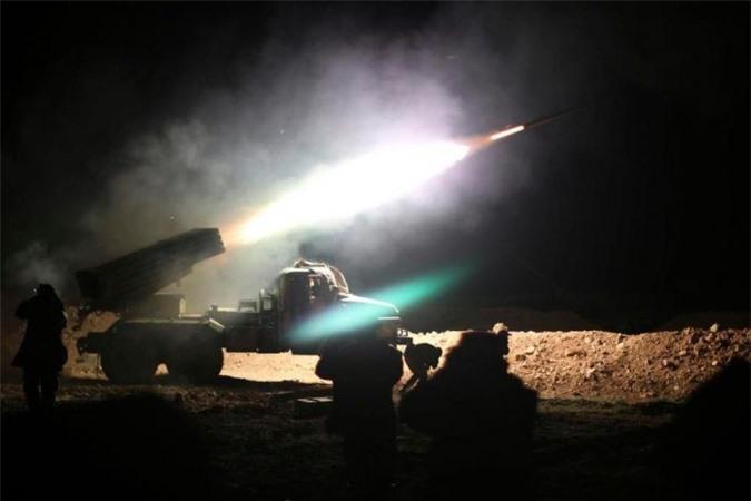 Quân đội Syria đã đè bẹp nỗ lực đánh úp của khủng bố IS trong đêm