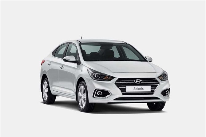 4. Hyundai Solaris (doanh số: 50.317 chiếc).