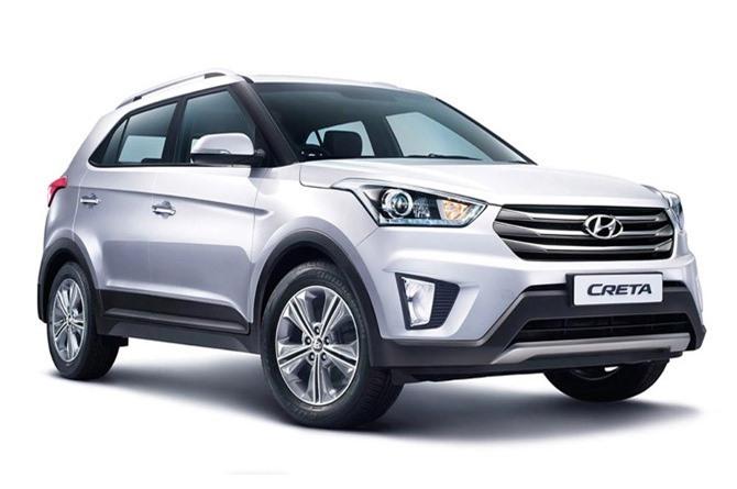 5. Hyundai Creta (doanh số: 49.683 chiếc).