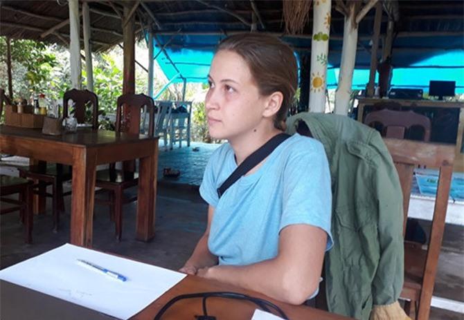 Cô gái xinh đẹp người Nga ẩu đả với chủ nhà nghỉ ở Phú Quốc