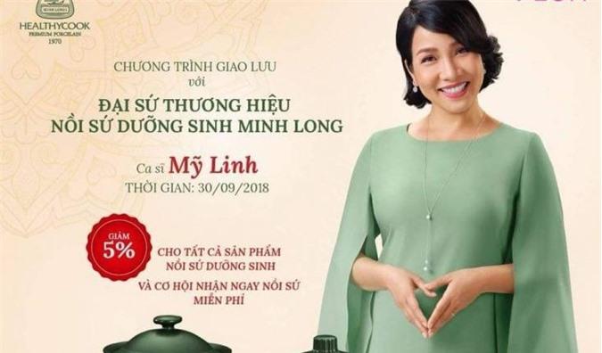 Gốm sứ Minh Long chọn khách hàng hay diva Mỹ Linh?