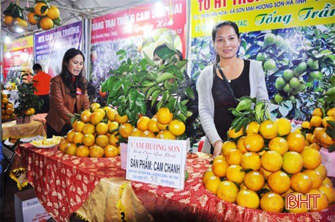 """Cam chanh Hương Sơn sắp thoát cảnh """"sống nhờ"""" thương hiệu"""