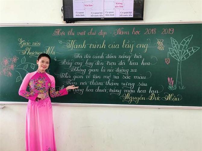 18 cô giáo tiểu học thi viết chữ đẹp, dân mạng sững sờ