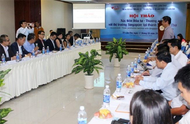 Doanh nghiệp Singapore muốn đầu tư, hợp tác tại TP Cần Thơ