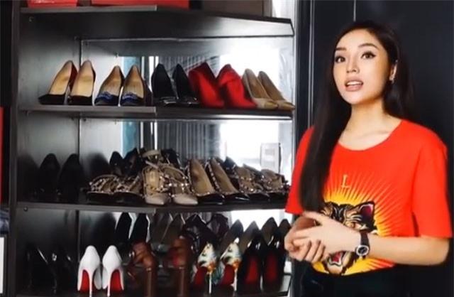 Clip: Hoa hậu Kỳ Duyên khoe tủ đồ hiệu nghìn USD khiến nhiều người choáng ngợp