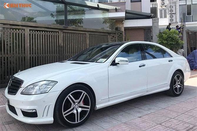 Chi tiết xe sang Mercedes S550 giá chỉ 980 triệu ở Việt Nam