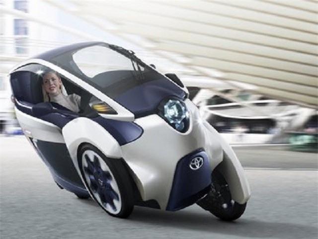 Toyota i-Road Concept: Mẫu xe nhỏ gọn cho không gian đô thị chật hẹp