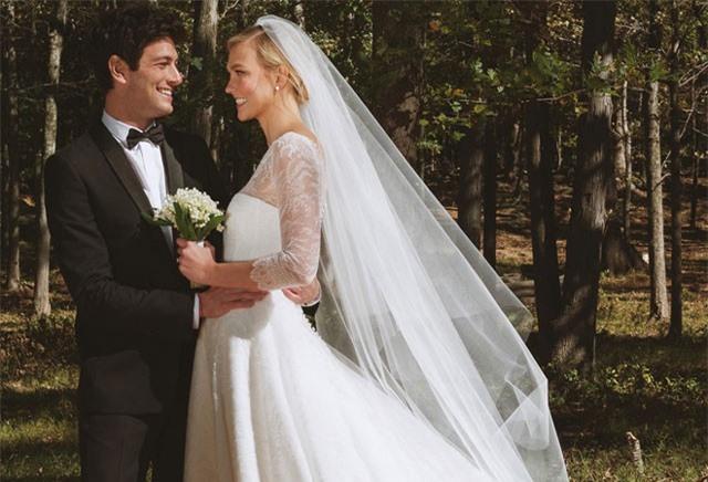 Đám cưới cổ tích đang gây xôn xao nhất Hollywood: Karlie Kloss kết hôn với em trai của con rể Tổng thống Mỹ