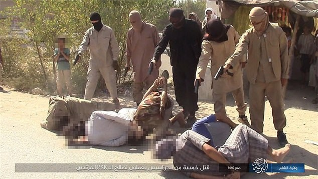 """IS hành quyết loạt """"gián điệp"""" Syria sau tuyên bố của Putin"""
