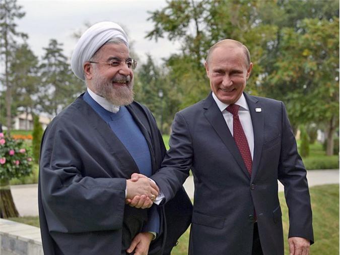 Putin thẳng thừng từ chối ép Iran cuốn gói khỏi Syria