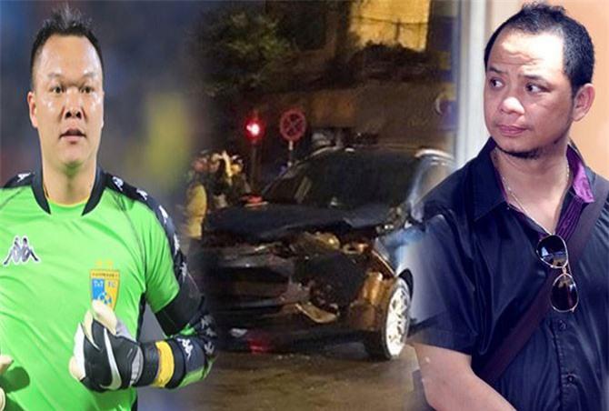 Diễn viên Anh Tuấn nói về vụ va chạm giao thông với thủ môn Hồng Sơn
