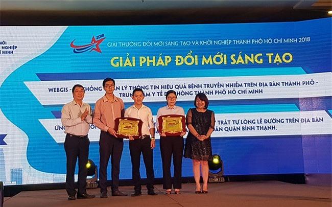 Trao giải thưởng Đổi mới sáng tạo và khởi nghiệp TP.HCM 2018