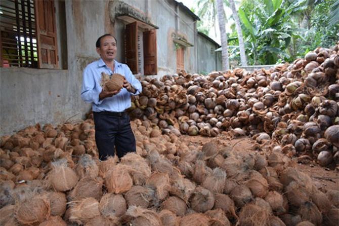 """HTX Ngọc An """"lên đời"""" sản phẩm từ dừa, riêng dầu dừa đã thu 3,5 tỷ"""