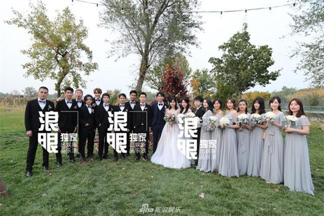 """Đám cưới hot nhất Cbiz ngày hôm qua: Dàn phù rể đẹp trai """"lấn át"""" cả chú rể"""