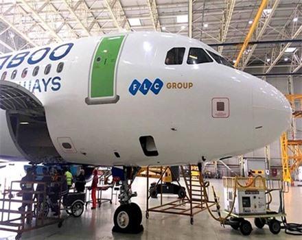 Lộ diện những hình ảnh thực tế đầu tiên của máy bay Bamboo Airways