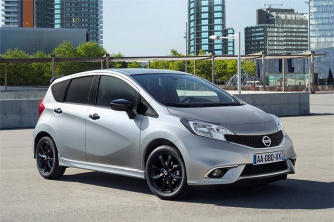 3. Nissan Note (doanh số: 108.872 chiếc).