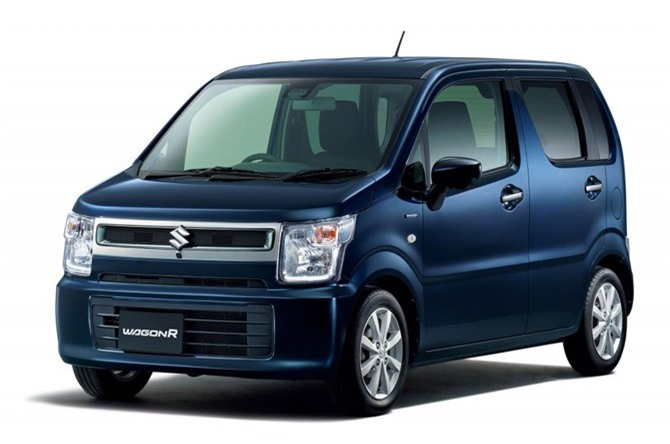 9. Suzuki Wagon R (doanh số: 86.542 chiếc).