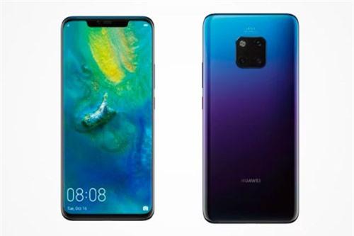Huawei Mate 20 sở hữu thiết kế với khung viền được làm từ kim loại, mặt trước và sau sử dụng kính cường lực Corning Gorilla Glass nhưng chưa rõ phiên bản nào. Số đo của Mate 20 Pro là 157,8x72,3x8,6 mm, cân nặng 189 g.