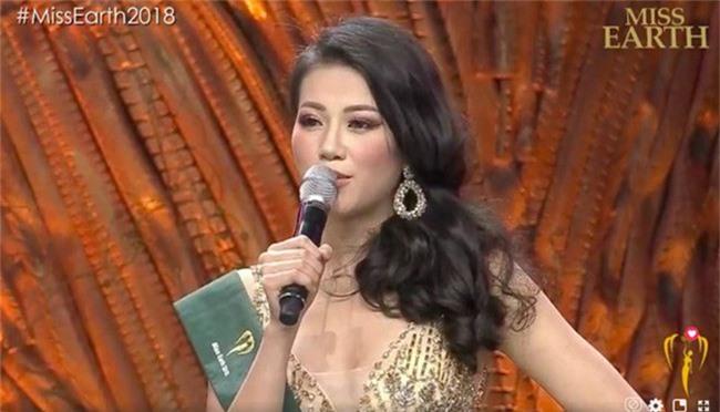 Đai diện Việt Nam - Nguyễn Phương Khánh đăng quang Hoa hậu Trái đất 2018 - Ảnh 1.