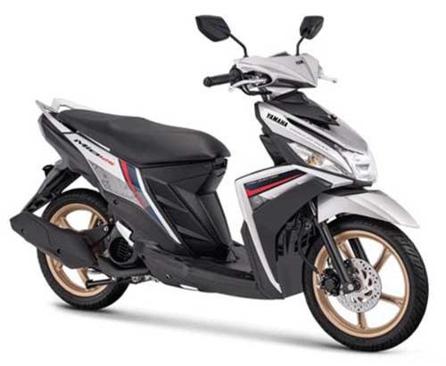 2019 Yamaha Mio M3 125 màu bạc.