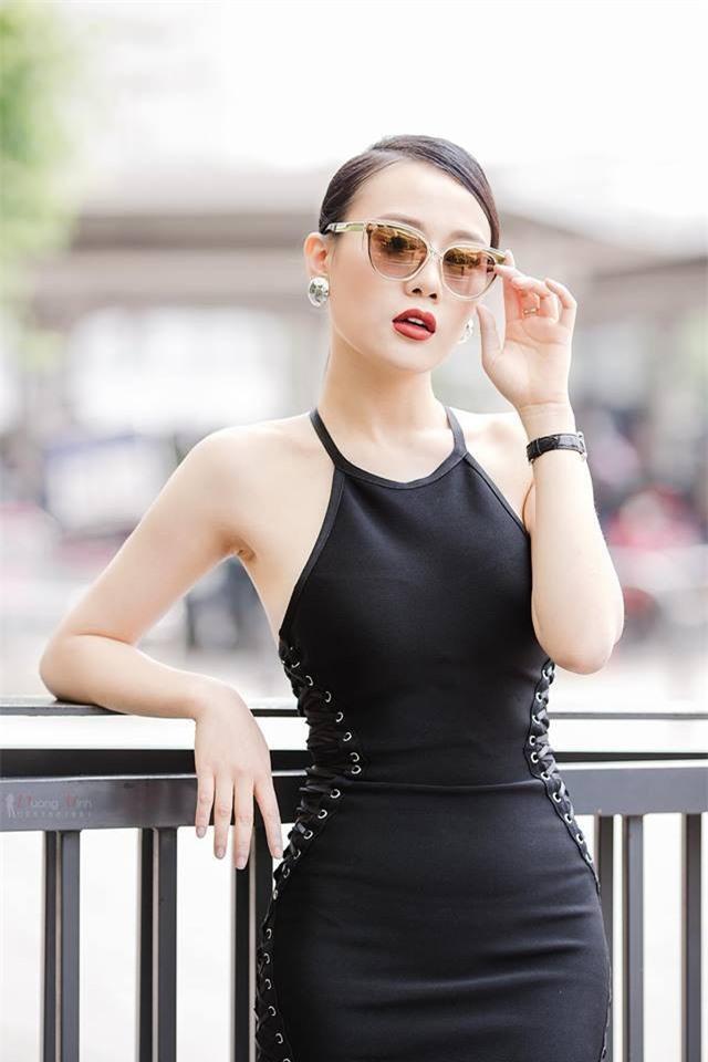 Cô chỉ làm người mấu từ năm 2010-2012, sau đó quyết định chuyển hướng sang sự nghiệp diễn xuất. Hiện tại vai diễn trong 'Quỳnh búp bê' của cô khá thành công. Ảnh: Vietnamnet
