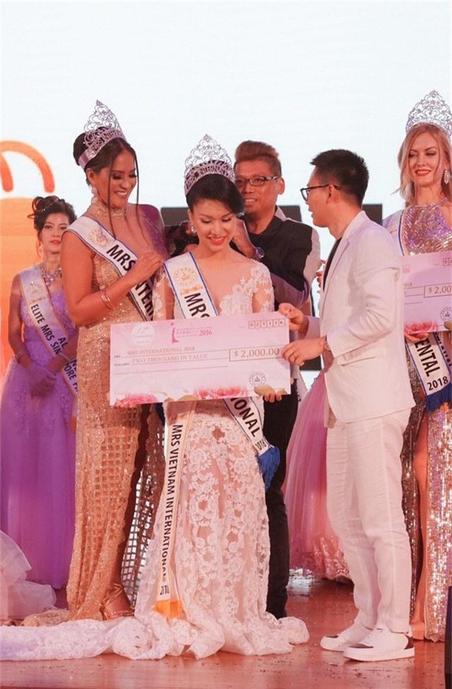 Loan Vương đăng quang Hoa hậu Quý bà quốc tế 2018 - Ảnh 2.
