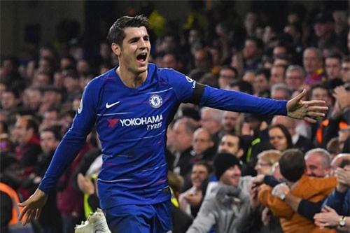Tiền đạo: Alvaro Morata (Chelsea).