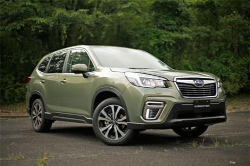 1. Subaru Forester 2019 (giá khởi điểm: 24.295 USD).
