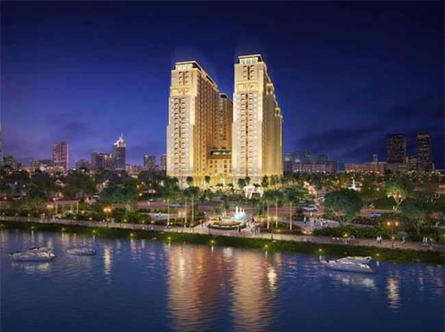 Khu cao ốc ven sông Dream Home Riverside nằm trong khu dân cư sầm uất Q.8 rộng đến 51ha (ảnh TL)