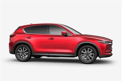 7. Mazda CX-5 2018 (giá khởi điểm: 24.150 USD).