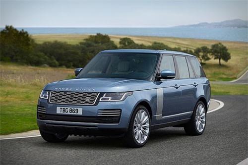8. Land Rover Range Rover (giá khởi điểm: 86.645 USD).
